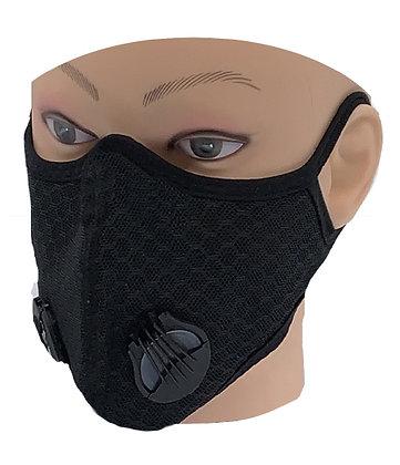 Masque facial pour adultes avec double valve MF-71