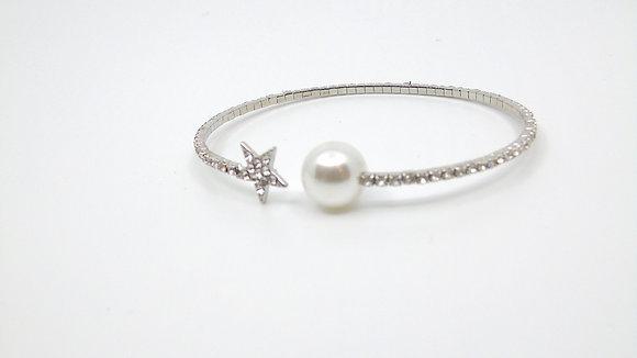 Bracelet étoile et perle
