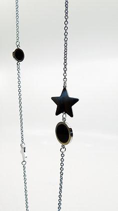 Chaîne ronds et étoiles