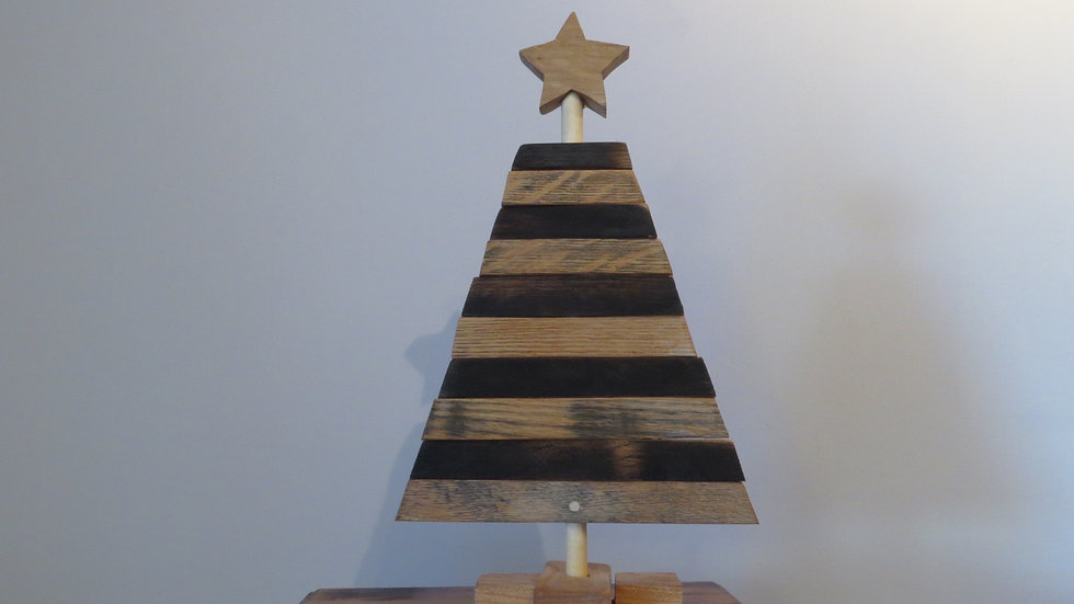 Barrel Stave Christmas Tree