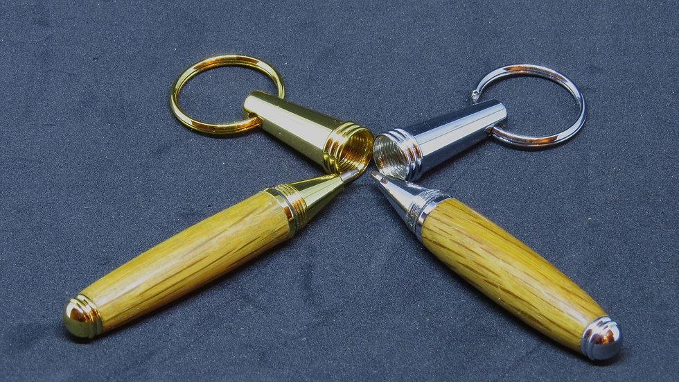 Barrel Stave Keyring Pen