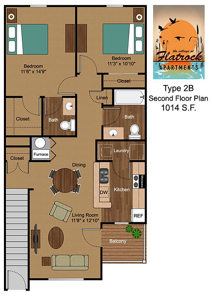 2 Bedroom - 2nd Floor.jpg