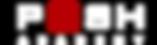10. Красный ИНВЕРСИЯ с прозрачной буквой