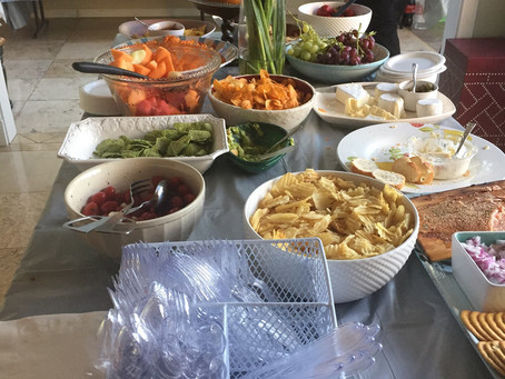 We are still in the event catering business