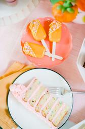 Dessert Buffet - Funfetti Cake Slice