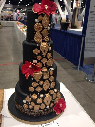 IBIE 2013 Competition Wedding Cake