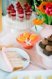 Dessert Buffet - Brownie Cake Pops