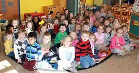 The children of our church nursey school