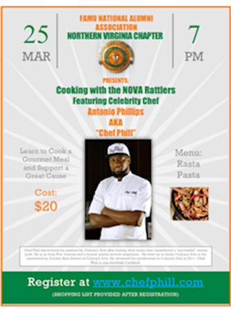 Cooking with the NOVA Rattlers featuring Chef Phill
