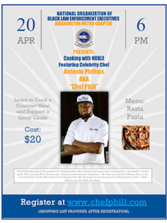 Cooking with NOBLE Fundraiser 4/20 @6PM