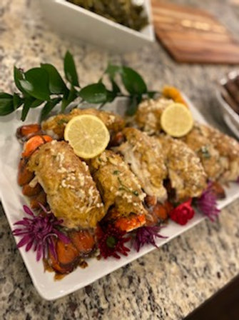Chef Phill's Stuffed Lobster Tail Recipe