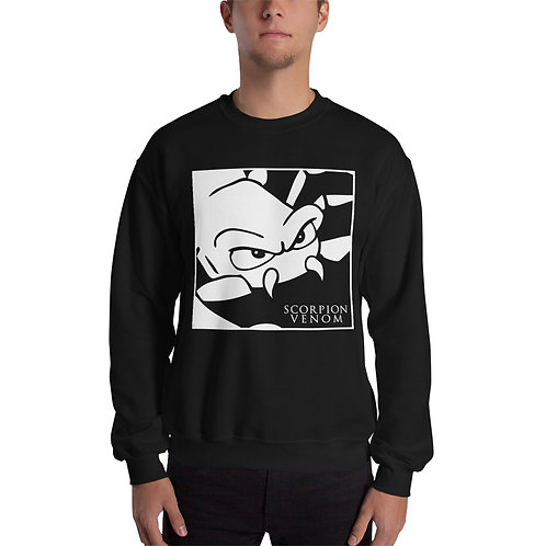 Unisex Scorpion Venom Black Sweatshirt