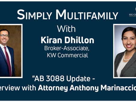 AB 3088 Update for Apartment Property Owners