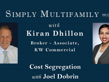Simply Multifamily: Cost Segregation - The Hidden Gem of the Tax Code