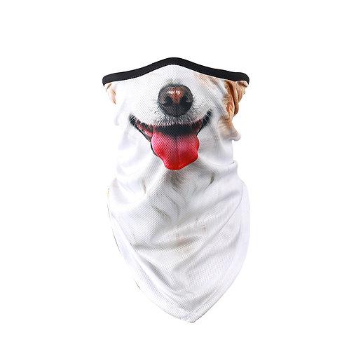 Corgi / Terrier face covering scarf