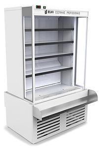 OPEN COOLER WHITE - EOC-WH-0750  04 - SE