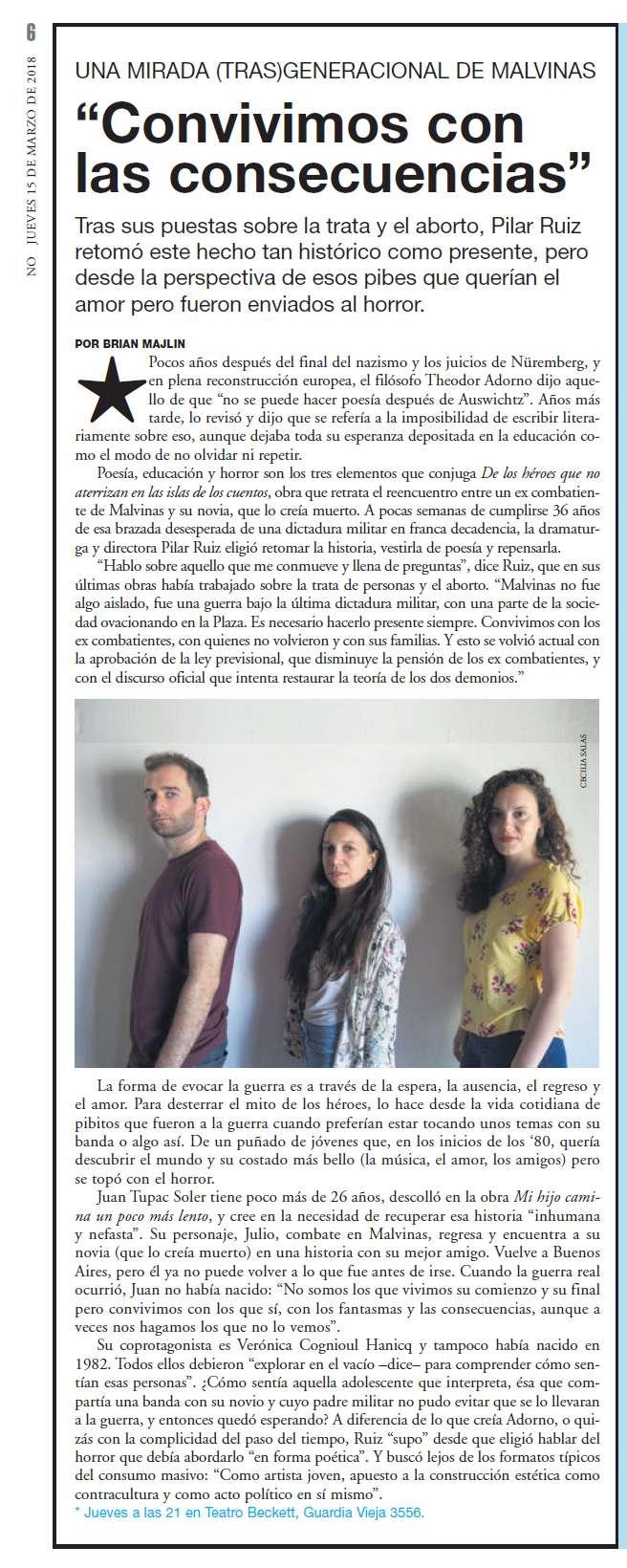 PAGINA 12. Suplemento No