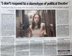 Entrevista a Pilar Ruiz. Directora y dramatuga