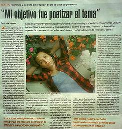 Entrevista a Pilar Ruiz. Directora y Dramaturga