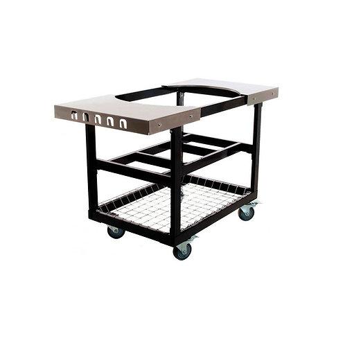 Стол-тележка со столешницами из стали для Primo JUNIOR