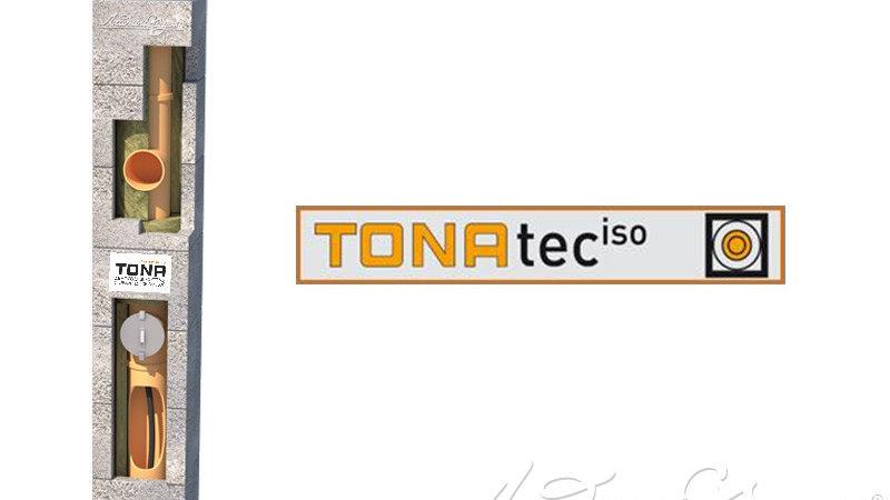 Комплект дымохода TONA tec ISO, диаметр 120 мм - 4 п.м.