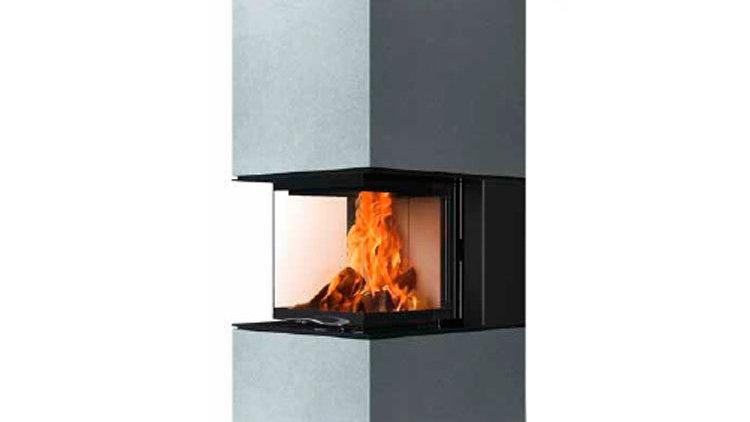 Дизайнерский камин Austroflamm Mel 55 (Термобетон)