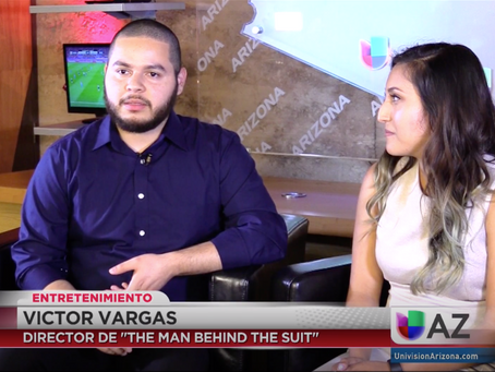 UNIVISION Interview for The Man Behind the Suit