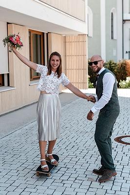 Hochzeitsfotograf Hochzeitsfilmer Alexander Weigert Regensburg Skateboard