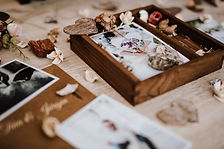 Hochzeitsfotos Holzbox