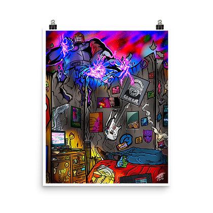 Mr Joubrel's Retro Era 1 of 5 Photo paper 16 x 20 poster