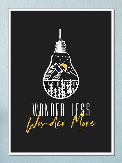 """Wander"" Art Print"