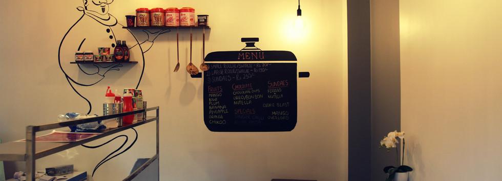 The Pop Up Hut cafe