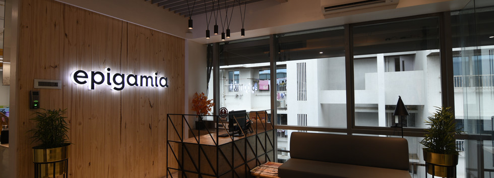 Reception, Epigamia Office