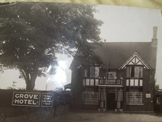 The Grove at Walcot in the 1930's. If anyone has any history or photographs of the Grove At Walc