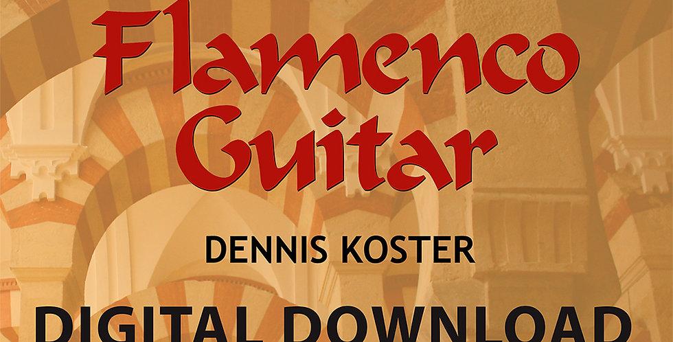 The Keys To Flamenco Guitar 3 Digital Book & Audio