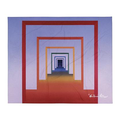 The Seven Doors - Day & Night - Cobertor 127 x 152 cm