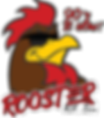 The Rooster 101.5 Logo