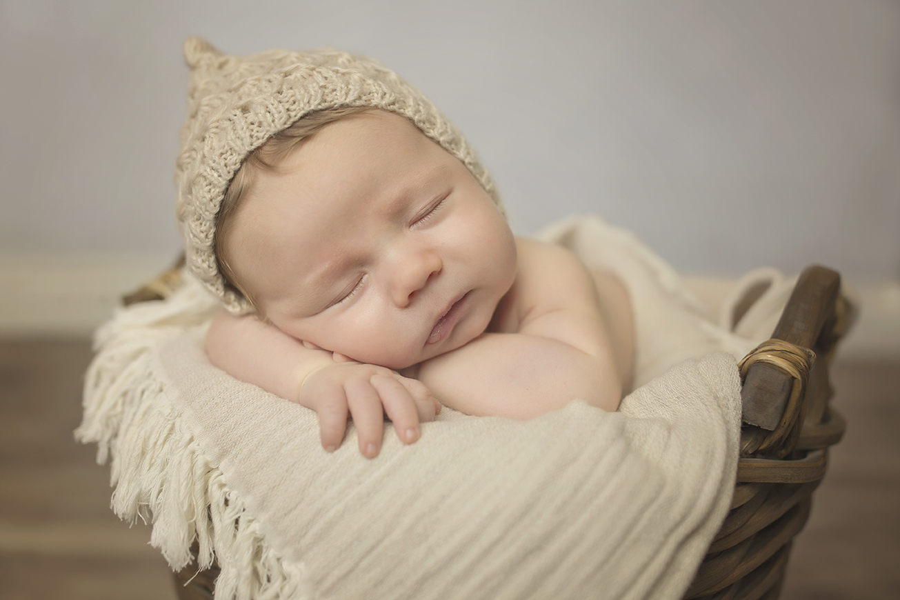 Newborn baby photography props part 2 crates baskets