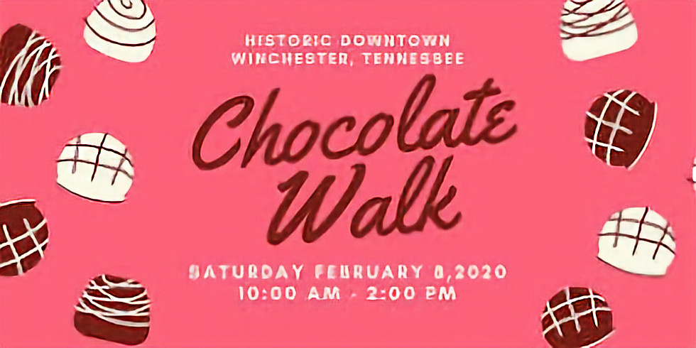 3rd Annual Chocolate Walk - Downtown Winchester