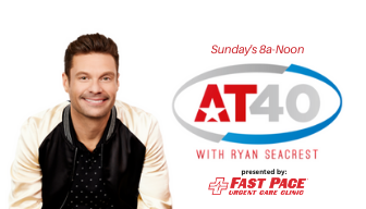 The AT40 on The Rooster 101.5