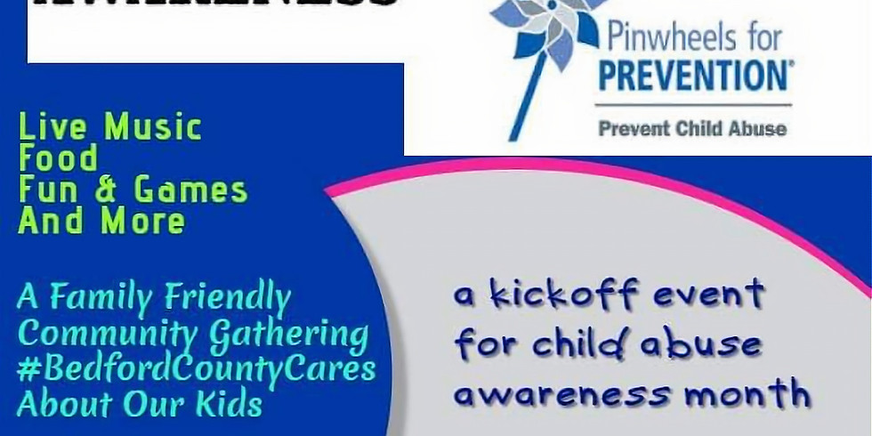 Childhood Abuse Awareness - A Kickoff Event for Child Abuse Awareness Month