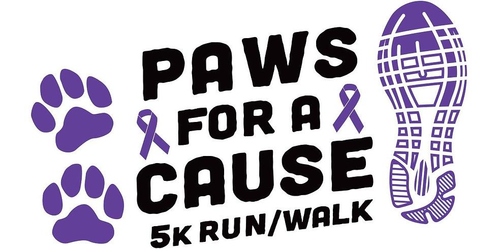 Paws for a Cause 5K Run/1 Mile Fun Walk