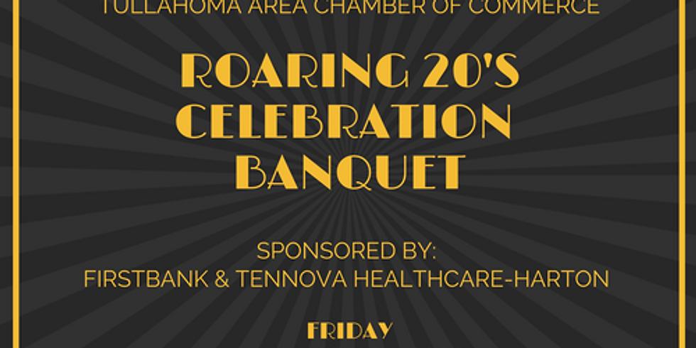 Roaring 20's Celebration Banquet - Annual Membership Celebration
