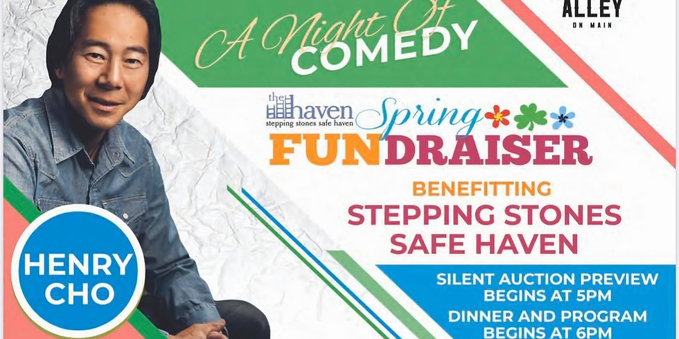 Spring FUNdraiser: A night of comedy - Benefitting Stepping Stones Safe Haven