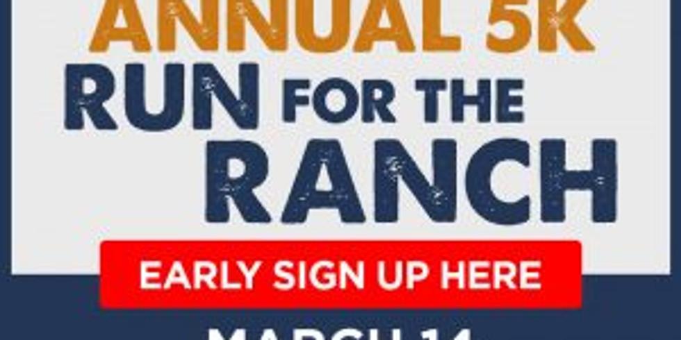 5K Run for the Ranch fundraiser for the Arrowhead Boys Ranch
