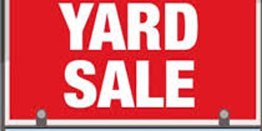 Family Support Program Yard Sale