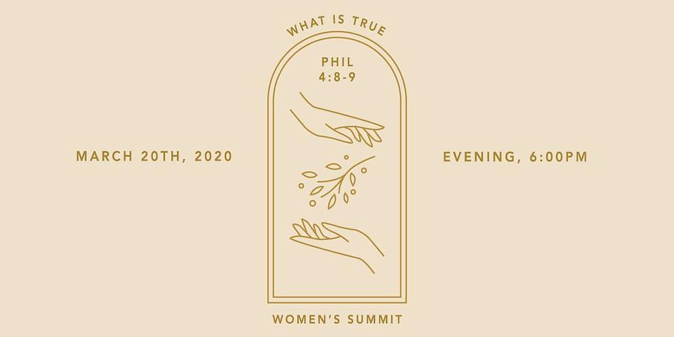 Women's Summit 2020: What is True