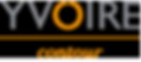 Логотип YVOIRE contour (ИВОР контур)