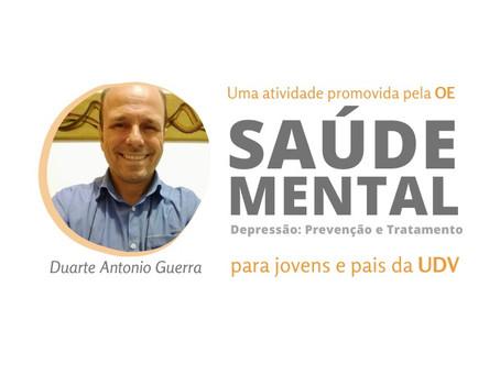 Palestra: Saúde Mental – Depressão: Prevenção e Tratamento