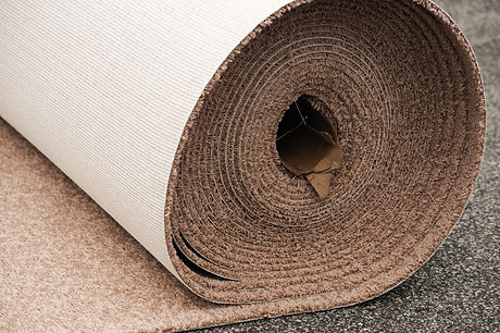 carpet roll for installation